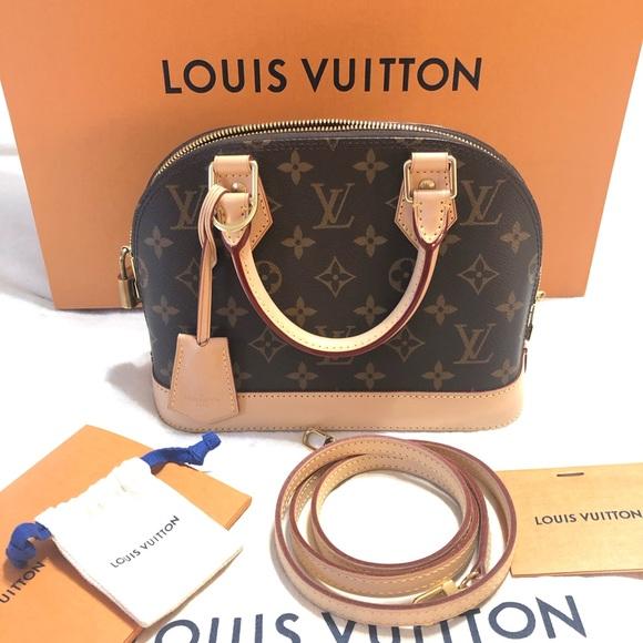 Louis Vuitton Handbags - Authentic Loui Vuitton Alma bb